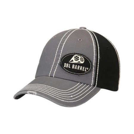 Cappellino Double Barrel Grey