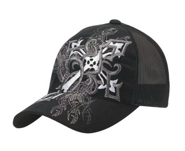 Cappellino Black Cross Flexfit