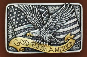 Fibbia God bless America
