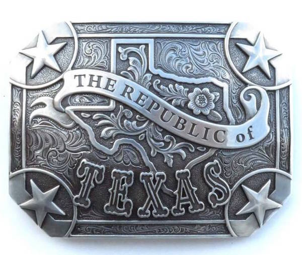 Fibbia The Republic of Texas