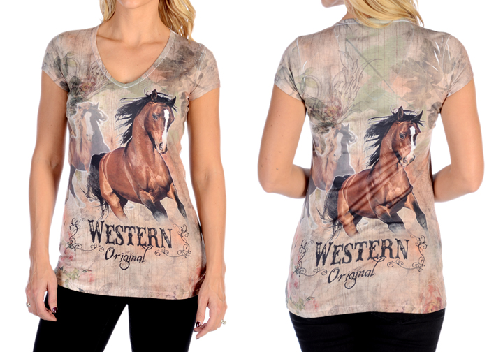 T-Shirt Liberty Wear western original