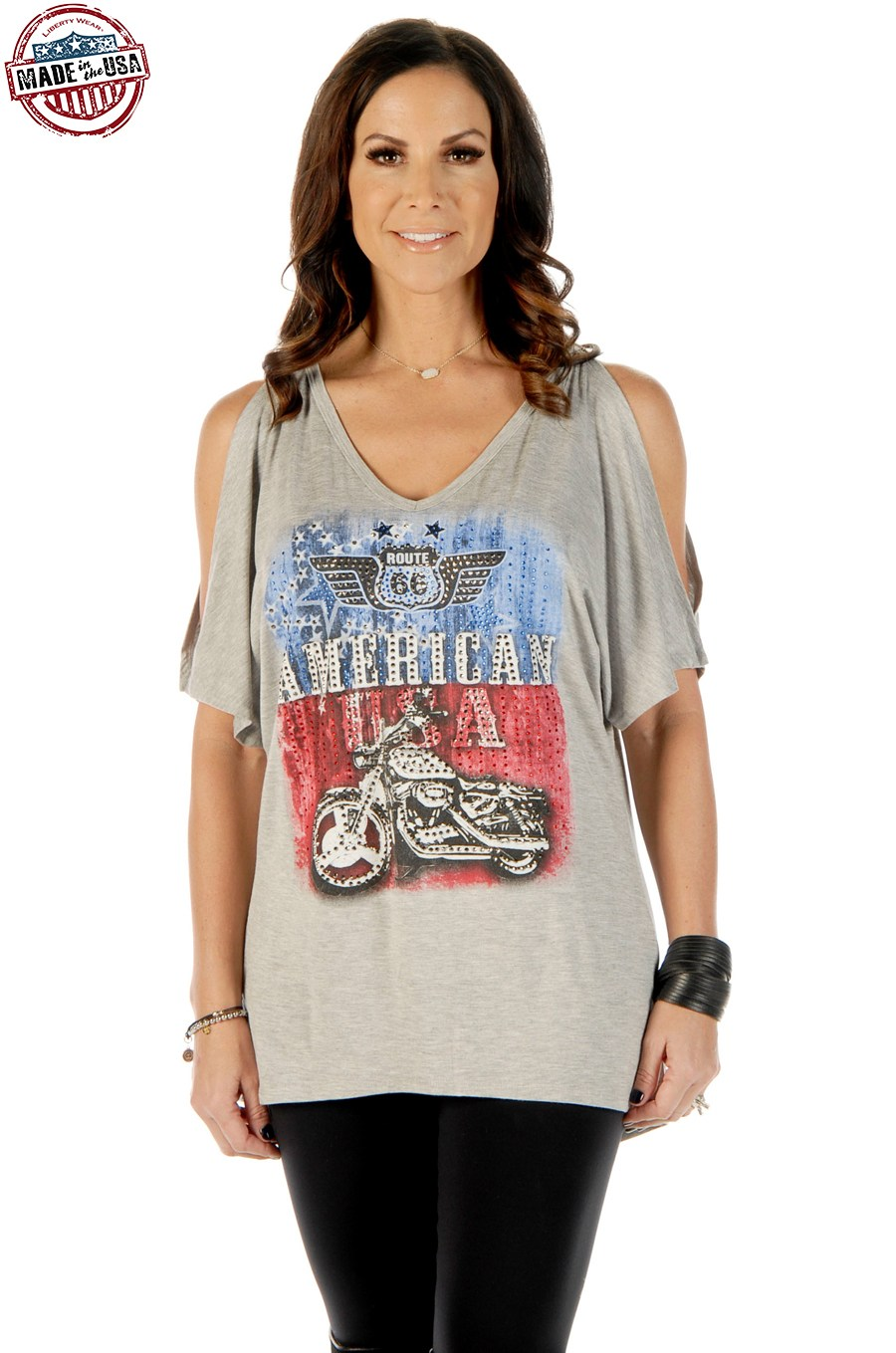Maglia Liberty Wear Route 66 Heather