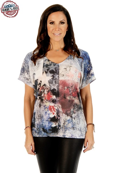 Maglia Liberty Wear Texas loose fit