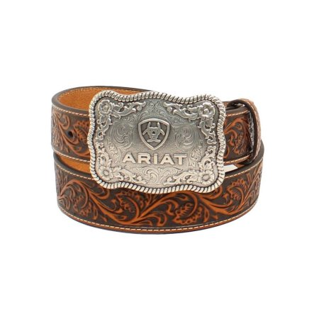 Cintura in pelle Ariat buckle