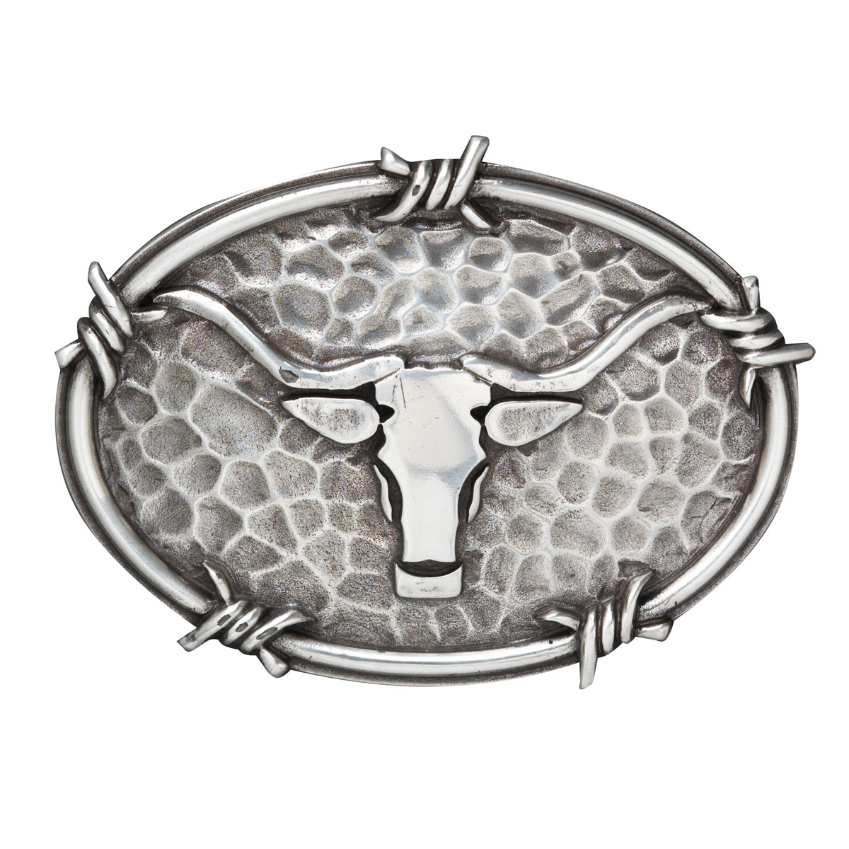 Fibbia Ariat Oval Steer Head