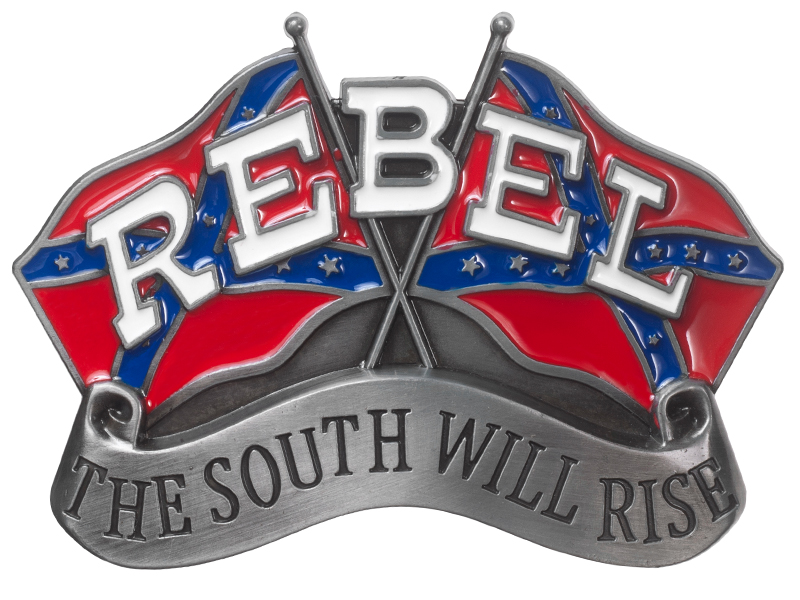 Fibbia Rebel Flags South will Rise