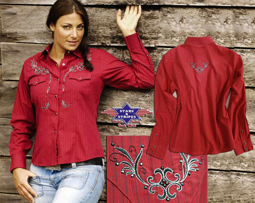 Camicia Stars & Stripes mod. Bonnie