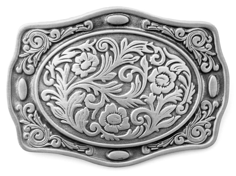 Fibbia Western Belt Bucle
