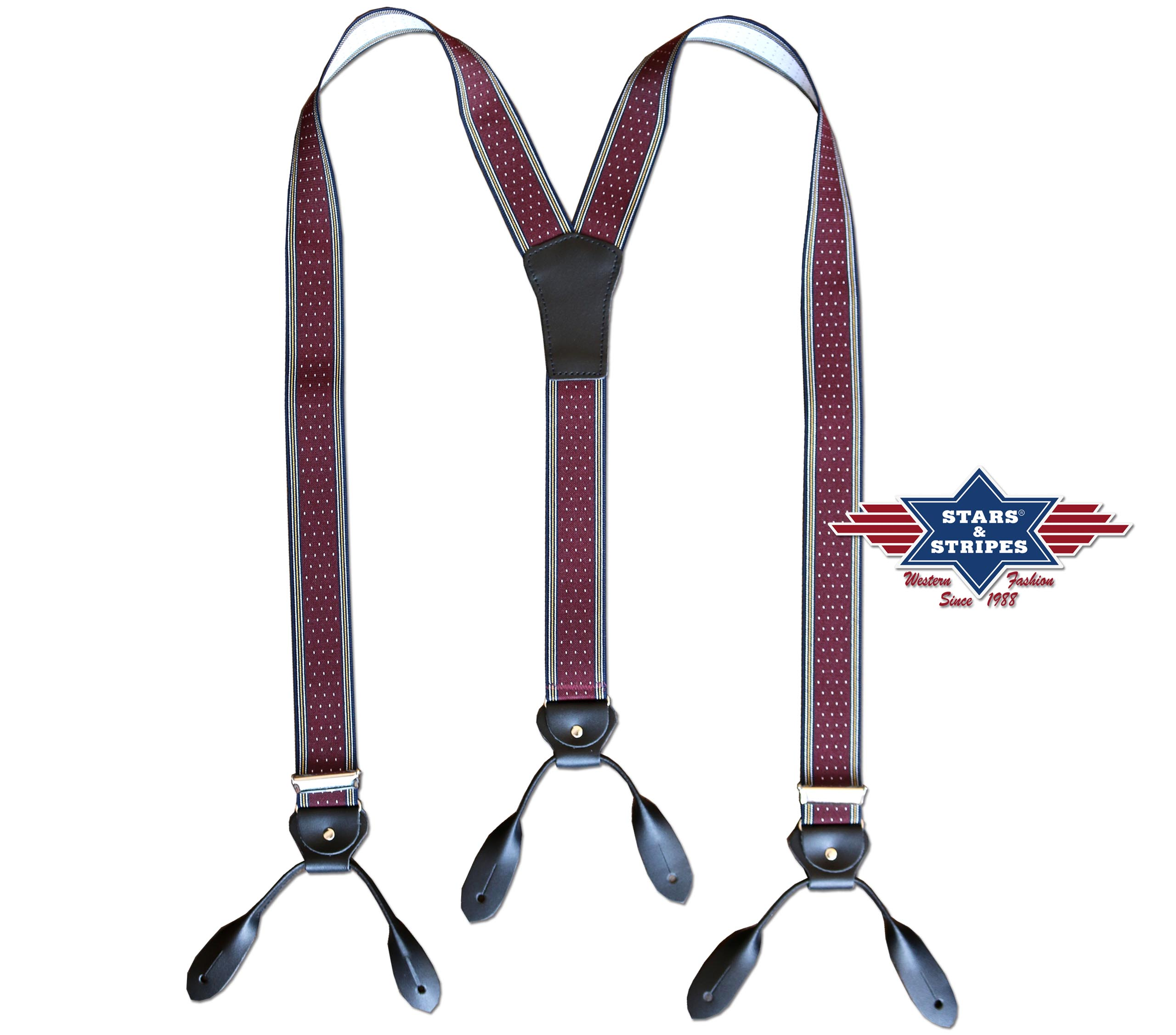 Bretelle Stars & Stripes HT-07