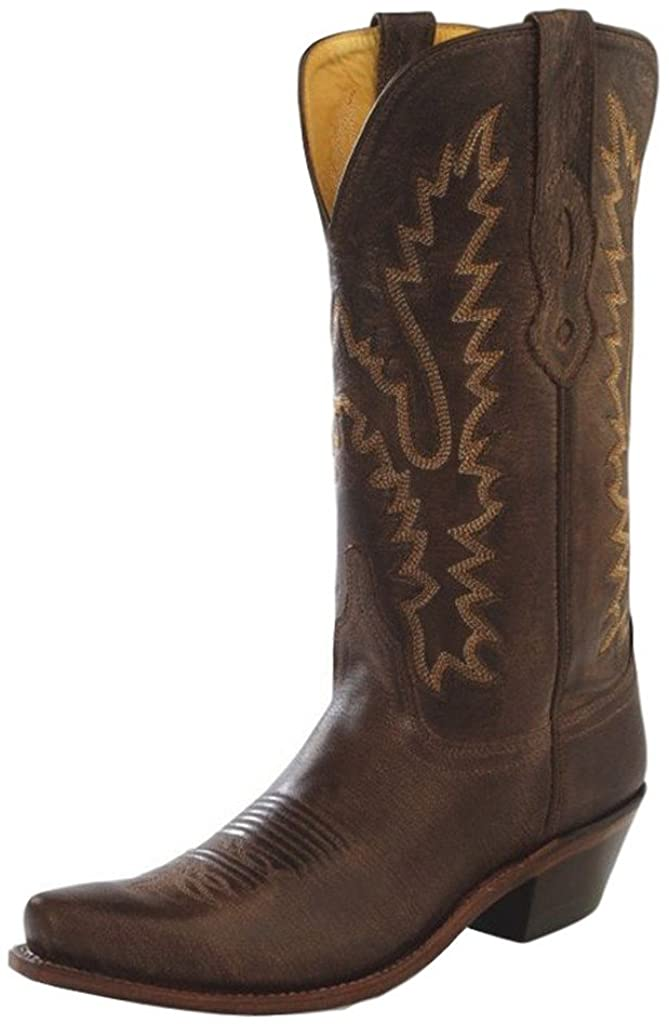 Stivali in pelle Old West Brown