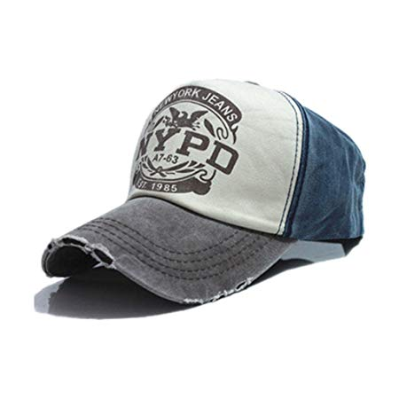 Cappellino NYPD brown