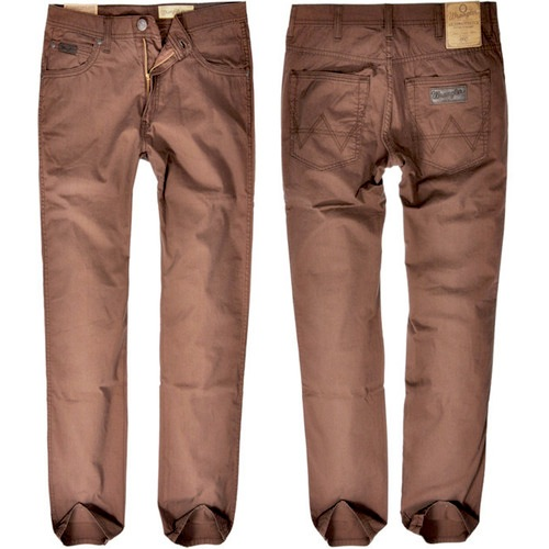 Pantaloni Wrangler Arizona brick brown