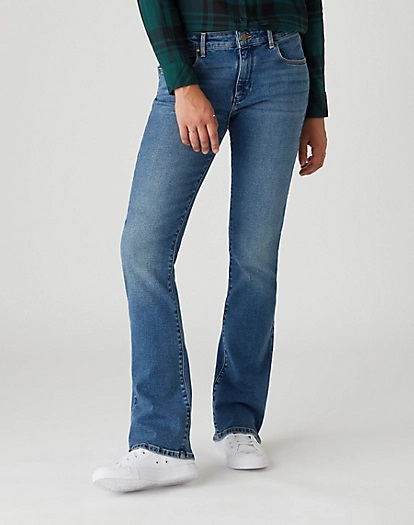 Jeans Wrangler Bootcut nomad sand