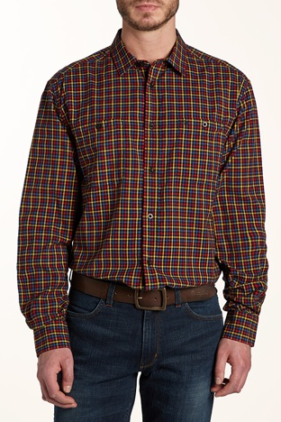 Camicia Wrangler 2 pocket casual fit