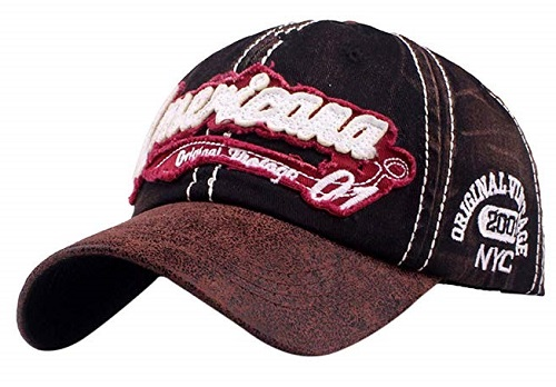 Cappellino Americana black brown