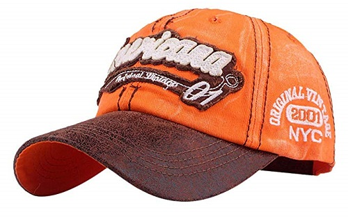 Cappellino Americana orange