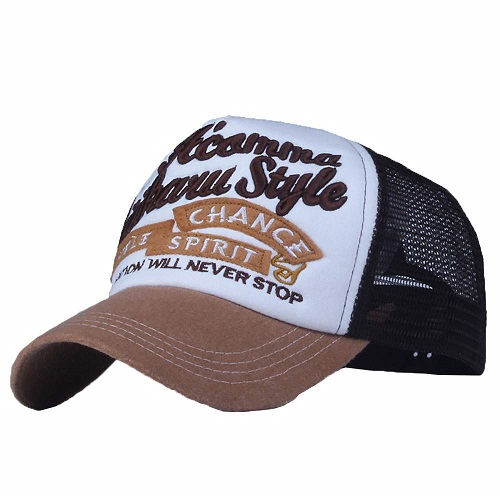 Cappellino brown tan