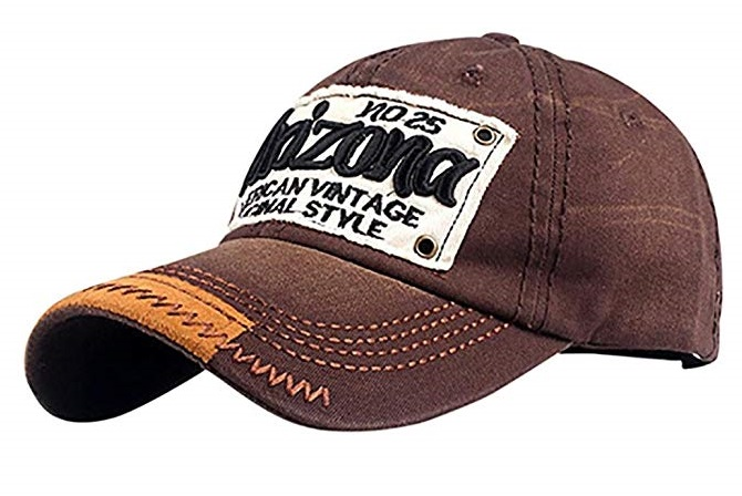 Cappellino Arizona brown