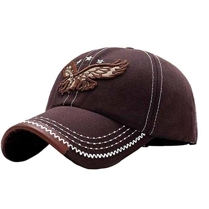 Cappellino Eagle Brown