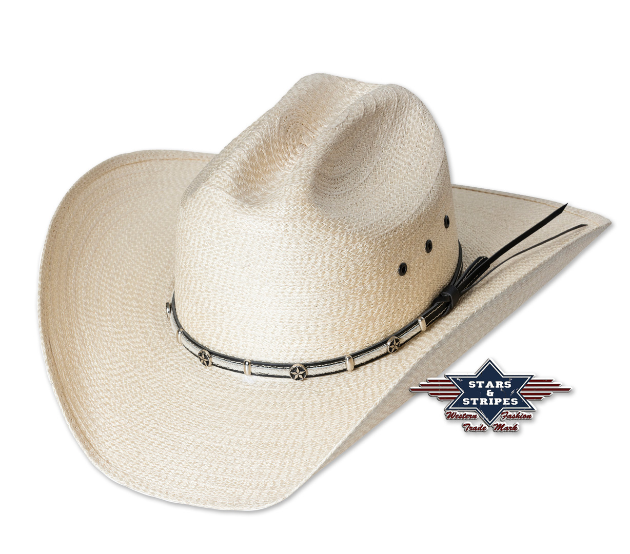 Cappello western Stars & Stripes Curtis