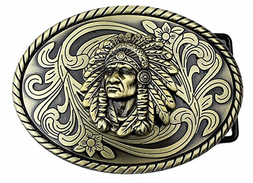Fibbia indian head