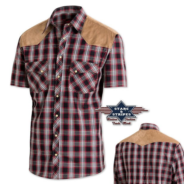 Camicia Stars & Stripes Francisco maniche corte