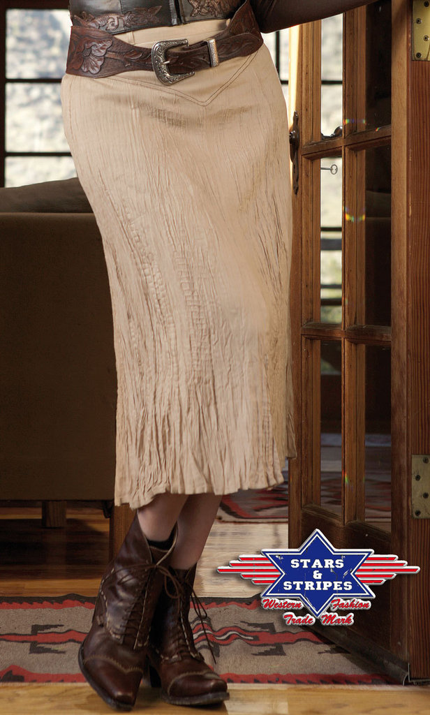 Gonna Stars & Stripes Layla beige