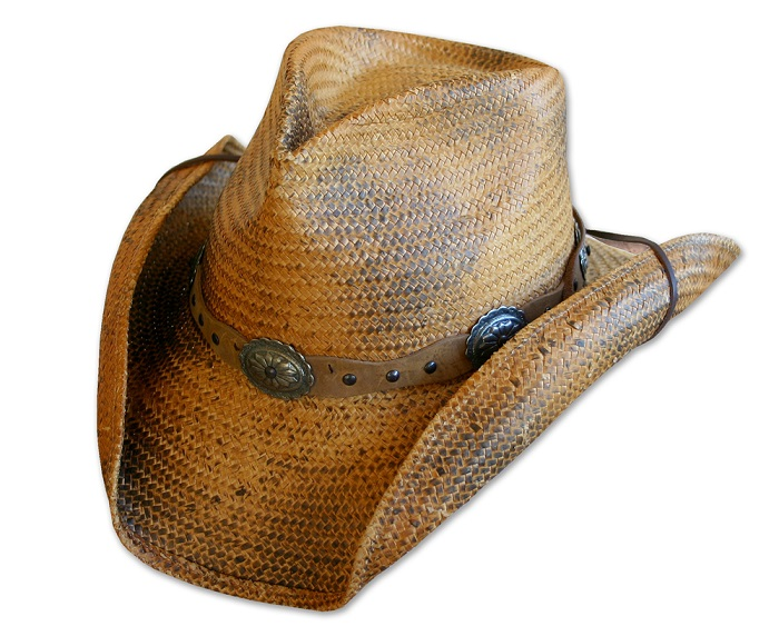 Cappello western Stars & Stripes Red Rock