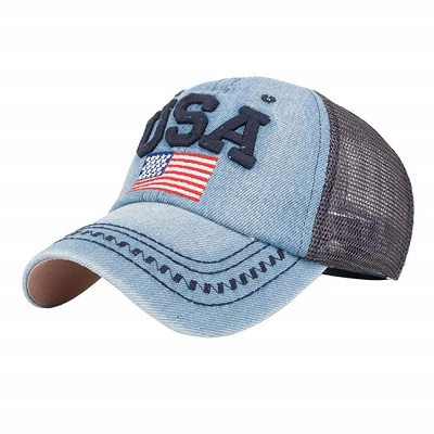 Cappellino U.S.A Denim Grey