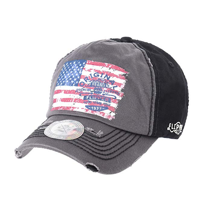 Cappellino Withmoons USA flag