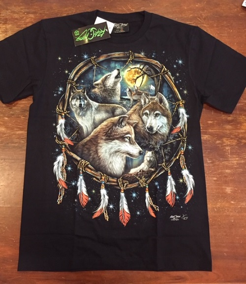T-Shirt Wolf Dreamcatcher